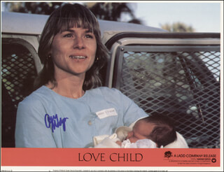 AMY MADIGAN - LOBBY CARD SIGNED