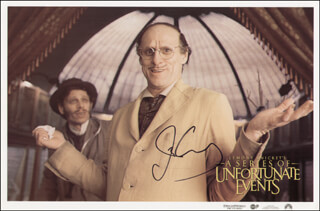 JIM CARREY - LOBBY CARD SIGNED