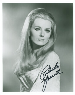 CELESTE YARNALL - AUTOGRAPHED SIGNED PHOTOGRAPH