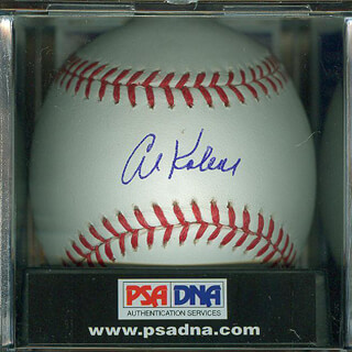 AL MR. TIGER KALINE - AUTOGRAPHED SIGNED BASEBALL