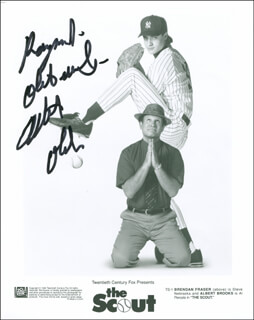 ALBERT BROOKS - AUTOGRAPHED INSCRIBED PHOTOGRAPH