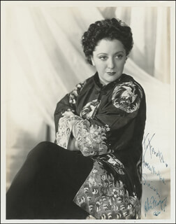 HELEN MORGAN - AUTOGRAPHED INSCRIBED PHOTOGRAPH