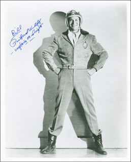 RICHARD WEBB - AUTOGRAPHED INSCRIBED PHOTOGRAPH