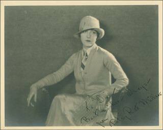 PATSY RUTH MILLER - AUTOGRAPHED INSCRIBED PHOTOGRAPH