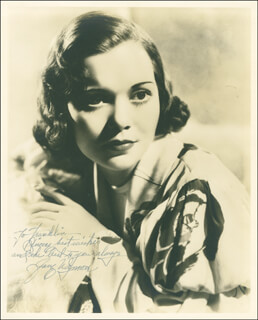 JANE WYMAN - AUTOGRAPHED INSCRIBED PHOTOGRAPH