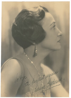 PAULINE FREDERICK - AUTOGRAPHED INSCRIBED PHOTOGRAPH
