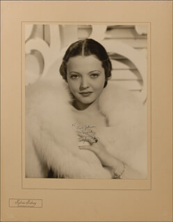 SYLVIA SIDNEY - AUTOGRAPHED INSCRIBED PHOTOGRAPH
