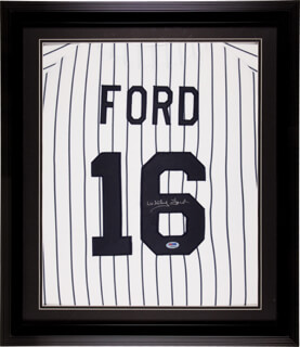 WHITEY FORD - JERSEY SIGNED