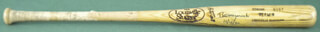 BILL MAZ MAZEROSKI - BASEBALL BAT SIGNED