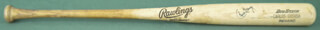 CARLOS BAERGA - BASEBALL BAT (GAME USED) SIGNED