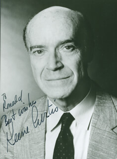 KEENE CURTIS - AUTOGRAPHED INSCRIBED PHOTOGRAPH