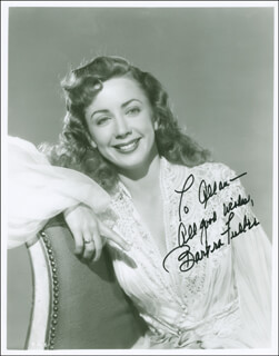 BARBRA FULLER - AUTOGRAPHED INSCRIBED PHOTOGRAPH