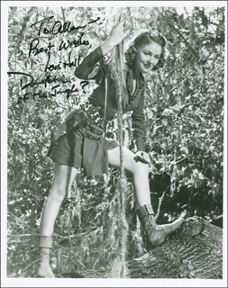 LOIS HALL - AUTOGRAPHED INSCRIBED PHOTOGRAPH