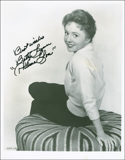 BETTY LYNN - AUTOGRAPHED SIGNED PHOTOGRAPH