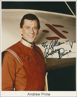 ANDREW PRINE - AUTOGRAPHED INSCRIBED PHOTOGRAPH