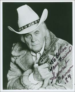SUNSET CARSON - AUTOGRAPHED INSCRIBED PHOTOGRAPH 1984