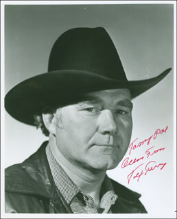 TEX TERRY - AUTOGRAPHED INSCRIBED PHOTOGRAPH