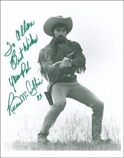RUSS McCUBBIN - AUTOGRAPHED INSCRIBED PHOTOGRAPH 1993