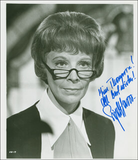 SIGNE HASSO - AUTOGRAPHED INSCRIBED PHOTOGRAPH