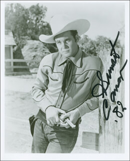 SUNSET CARSON - AUTOGRAPHED SIGNED PHOTOGRAPH 1982