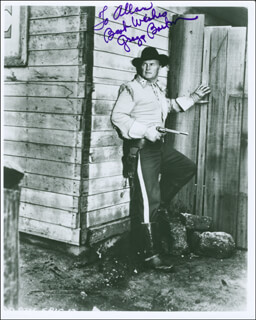 GREGG BARTON - AUTOGRAPHED INSCRIBED PHOTOGRAPH