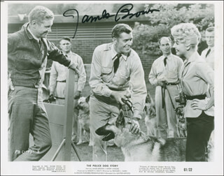 JAMES L. RIP BROWN - AUTOGRAPHED SIGNED PHOTOGRAPH