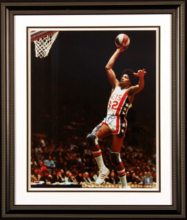 JULIUS DR. J. ERVING - AUTOGRAPHED SIGNED PHOTOGRAPH