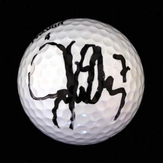 JOHN ELWAY - GOLF BALL SIGNED