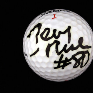 JERRY RICE - GOLF BALL SIGNED