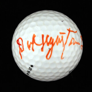 RICHARD NIGHT TRAIN LANE - GOLF BALL SIGNED