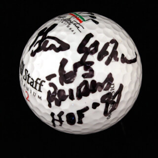 GENE UPSHAW - GOLF BALL SIGNED
