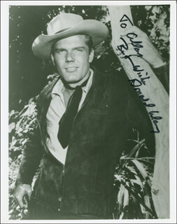 DONALD MAY - AUTOGRAPHED INSCRIBED PHOTOGRAPH