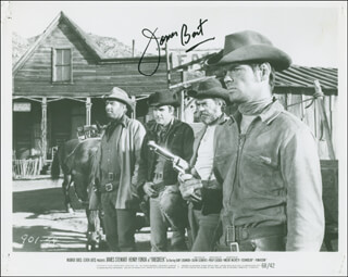 JAMES BEST - PRINTED PHOTOGRAPH SIGNED IN INK