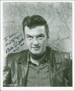 WILLIAM CAMPBELL - AUTOGRAPHED INSCRIBED PHOTOGRAPH 07/04/1984
