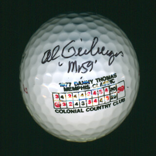 AL GEIBERGER - GOLF BALL SIGNED