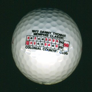 AL GEIBERGER - GOLF BALL UNSIGNED