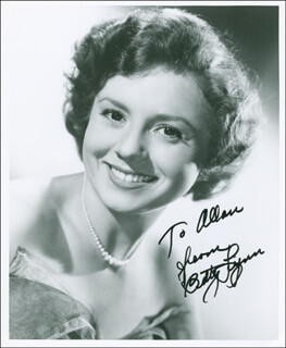 BETTY LYNN - AUTOGRAPHED INSCRIBED PHOTOGRAPH