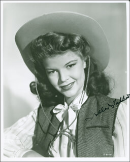 HELEN TALBOT - AUTOGRAPHED SIGNED PHOTOGRAPH