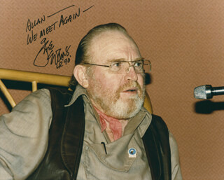 GENE EVANS - AUTOGRAPHED INSCRIBED PHOTOGRAPH 1990