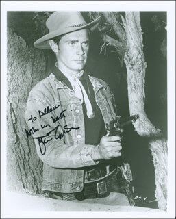 JOHN LUPTON - AUTOGRAPHED INSCRIBED PHOTOGRAPH