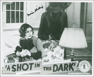 MARION SHILLING - AUTOGRAPHED SIGNED PHOTOGRAPH