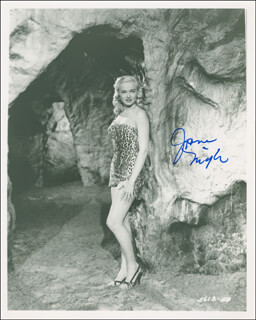 JANE NIGH - AUTOGRAPHED SIGNED PHOTOGRAPH