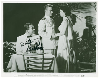 DONALD CURTIS - AUTOGRAPHED INSCRIBED PHOTOGRAPH