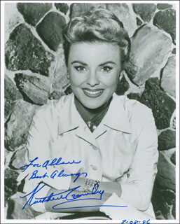 KATHLEEN CROWLEY - AUTOGRAPHED INSCRIBED PHOTOGRAPH CIRCA 1996