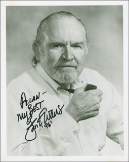 GENE EVANS - AUTOGRAPHED INSCRIBED PHOTOGRAPH 1996
