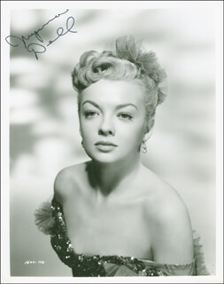 MYRNA DELL - AUTOGRAPHED SIGNED PHOTOGRAPH