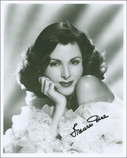 FRANCES DEE - AUTOGRAPHED SIGNED PHOTOGRAPH