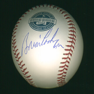 BRIAN CASHMAN - AUTOGRAPHED SIGNED BASEBALL