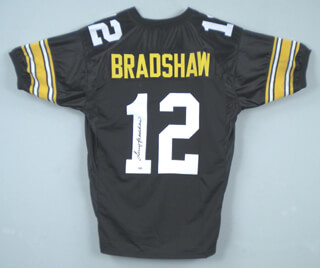 Autographs: TERRY BRADSHAW - JERSEY SIGNED