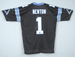 CAM NEWTON - JERSEY SIGNED